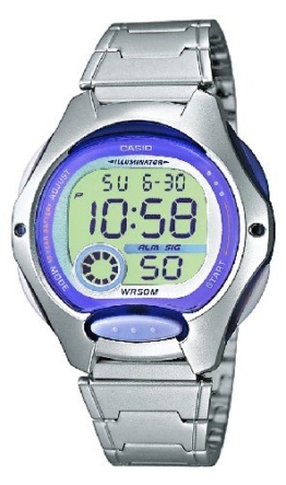 Casio Collection Kinder-Armbanduhr Digital Quarz LW-200D-6AVEF -