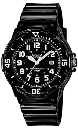 Casio Damen-Armbanduhr Analog Quarz Plastik LRW-200H-1BVEF -