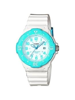 Casio Damen-Armbanduhr Analog Quarz Plastik LRW-200H-2BVEF -