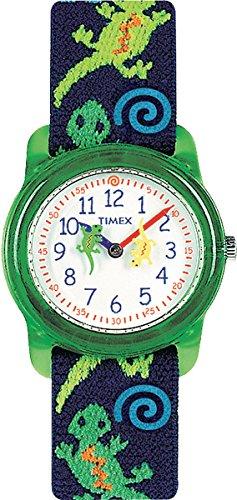 Timex Jungen-Armbanduhr Analog Quarz Textil T72881 -