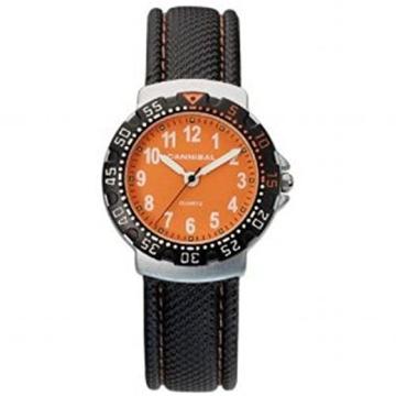 Cannibal Unisex-Armbanduhr Analog Kunststoff schwarz CJ091-19 -
