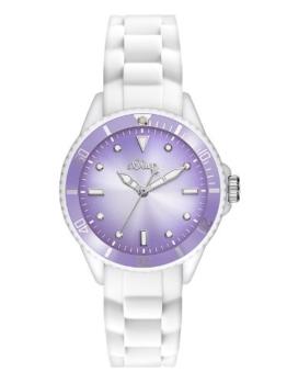 s.Oliver Damen-Armbanduhr XS Analog Quarz Silikon SO-2708-PQ -