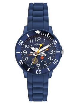 s.Oliver Jungen-Armbanduhr Analog Quarz SO-2590-PQ -