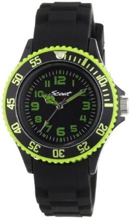Scout Jungen-Armbanduhr Analog Quarz Silikon 280303000 -