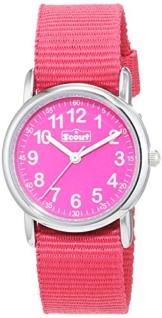 Scout Mädchen-Armbanduhr Analog Quarz Textil 280304001 -