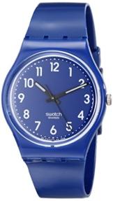 Swatch Unisex-Armbanduhr Up-Wind Analog Quarz Plastik GN230 -