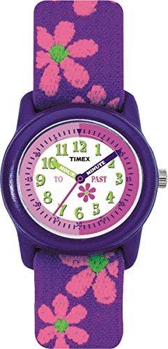 Timex Mädchen-Armbanduhr Analog Textil T89022 -